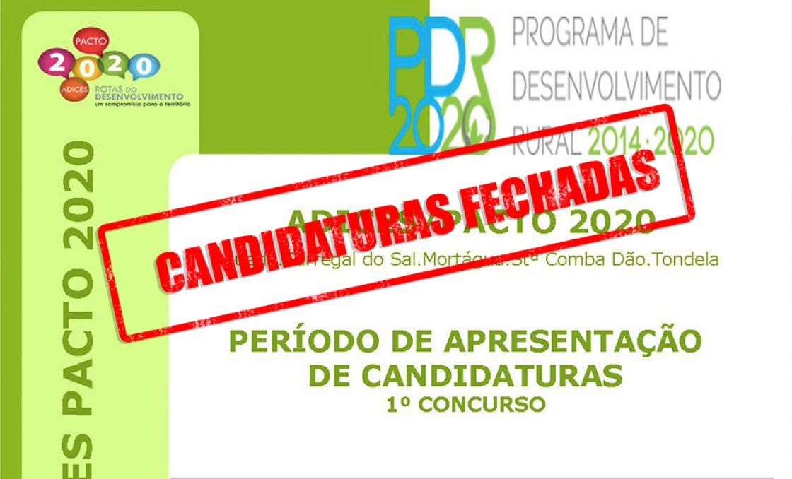 Encerrado Concurso do DLBC/LEADER - ADICES PACTO 2020